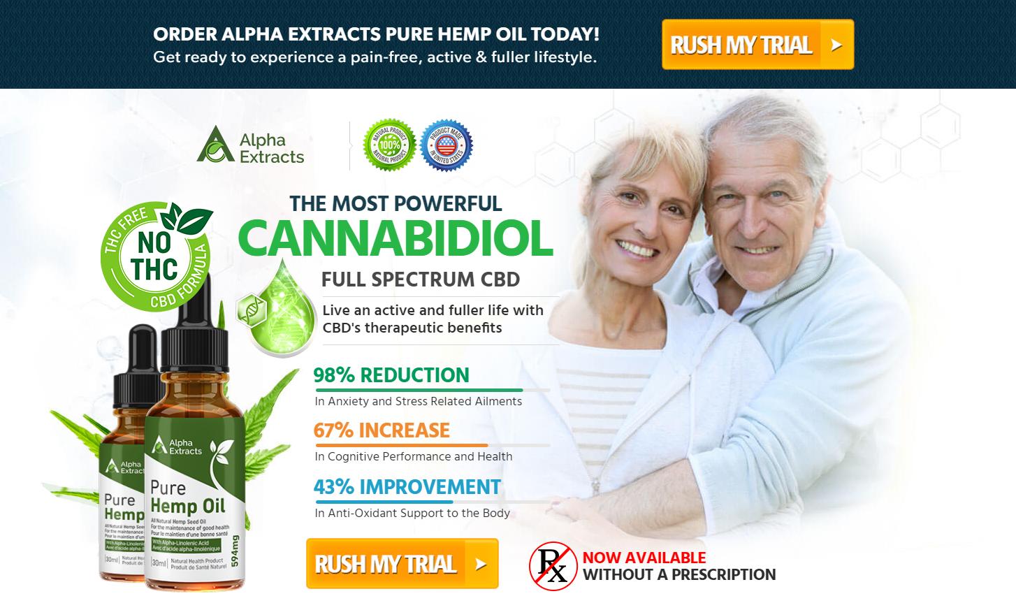 Alpha Extract CBD Oil Buy