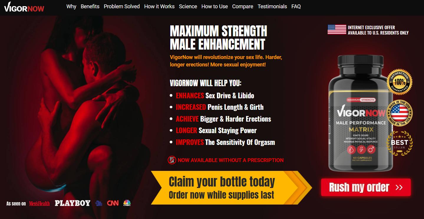 VigorNow Male Enhancement