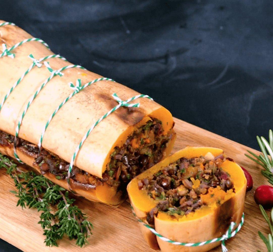 Vegan butternut roast